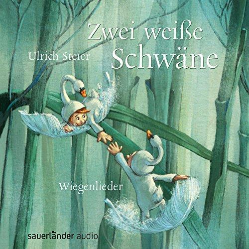 Zwei weiße Schwäne: Wiegenlieder cover art