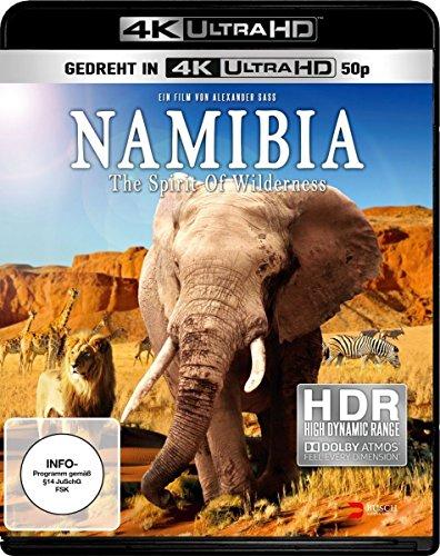 Namibia - The Spirit of Wilderness [4K Ultra HD Blu-ray]