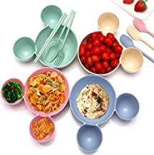 Cute Cartoon Minnie Mouse Children Bowl Dishes Baby Feeding Bowl Baby Dinner Food Container Fruit Plate Children's Tableware- color random