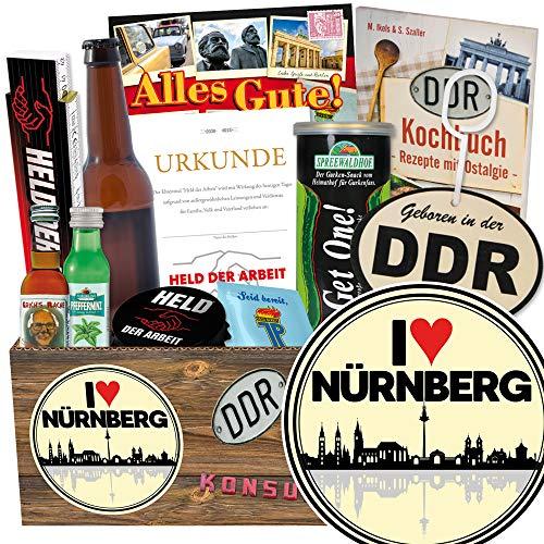 I love Nürnberg / Männer Ost Paket / Nürnberg Geburtstagsüberraschung