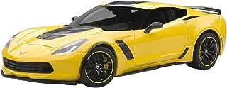 AUTOart C7–Model Kit–Chevrolet Corvette Z062015°C7R Edition–Echelle 1: 18, 71260, Yellow/Black