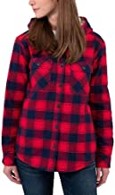 red and black checkered jacket womens