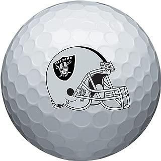 NFL Oakland Raiders Golf Ball, Pack of 6