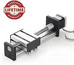 100mm Travel Length Linear Stage Actuator DIY CNC Router Parts X Y Z Linear Rail Guide Sfu1402 Nema17