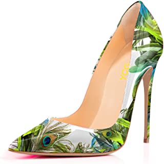 5514bca1614c6 Amazon.com: Green - Pumps / Shoes: Clothing, Shoes & Jewelry