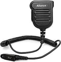 Ailunce HD1 Shoulder Speaker Mic Microphone IP55 Waterproof 3.5mm Audio Jack Mic for Ailunce HD1 Retevis RT82 RT87 RT29 Walkie Talkie (1 Pack)
