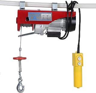 comprar comparacion Polipasto Eléctrico 450W Grúa de Elevación con Control para el Hogar, Fábrica, Almacén 100/200KG AC220V