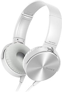 Fone de Ouvido (c/ mic) - 3,5mm - Sony - MDR-XB450AP EXTRA BASS - Branco