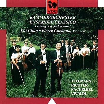 Telemann: Burlesque de Don Quixotte – Vivaldi: Concerto for 2 Violins in A Minor, RV 522 – Pachelbel: Canon in D Major – Richter: Symphony in G Major