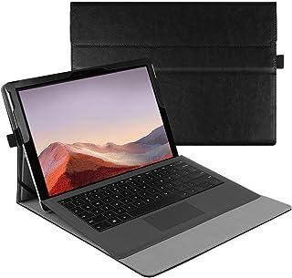 جراب Fintie الجديد لجهاز Microsoft Surface Pro 7 / Pro 6 / Pro 5 / Pro 4 / Pro 3 12.3 Inch - جراب عمل محفظة عرض متعدد الزو...