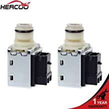 HERCOO 4L60E 4L65E 4L70E Transmission Shift Solenoid Kit Valve Set 1-2 2-3 A&B Compatible with GMC Chevrolet Trucks 1993-UP