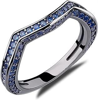 Best blue sapphire diamond wedding rings Reviews