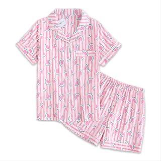 b7b0332f784 Lindos Sandalias De Color Rosa con Pijamas Cortos Que Las Mujeres Duermen  En Interiores Verano 100