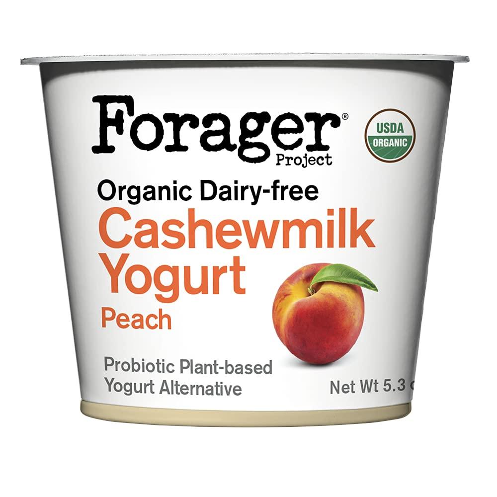 Forager Project Bombing free shipping Organic Peach OZ Cashew 5.3 Yogurt Department store