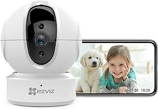 EZVIZ C6CN 1080p Indoor Pan/Tilt WiFi Security Camera 360° Full Room Coverage Auto Motion Tracking Full Duplex Two-Way Aud...