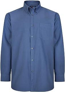 Kam Jeanswear Men's Oxford Long Sleeve Shirt