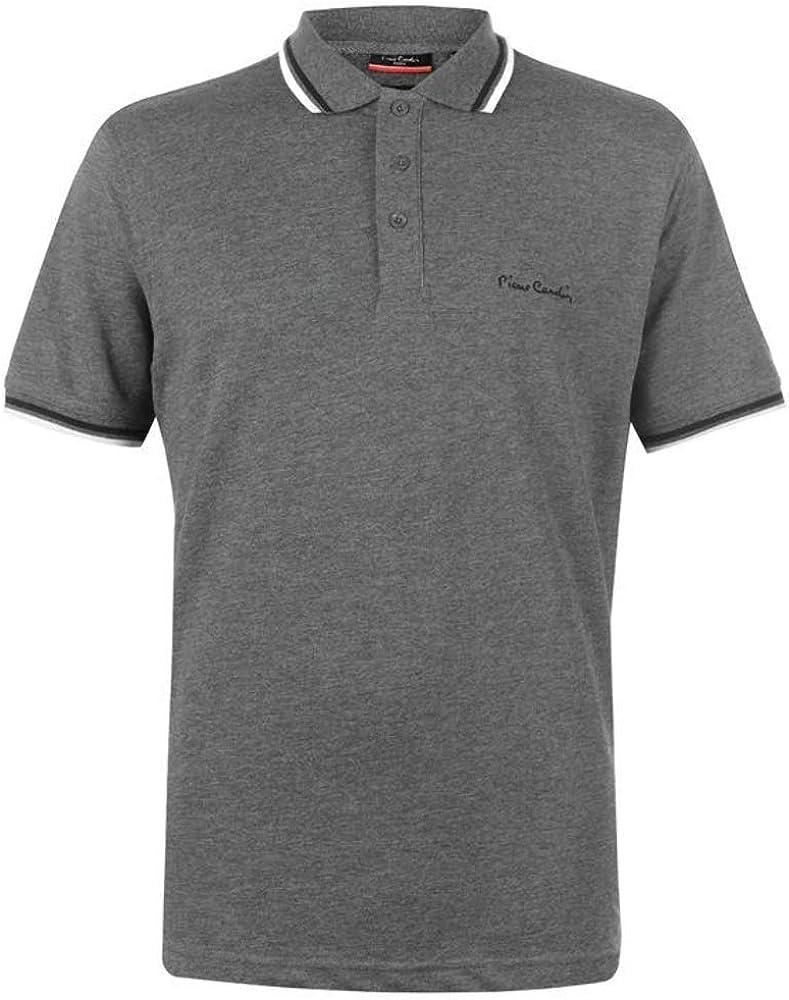 Pierre cardin polo maglietta a manica corta per uomo 65% poliestere 35% cotone B000398D