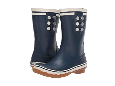 Sperry Saltwater Tall Rain (Navy) Women