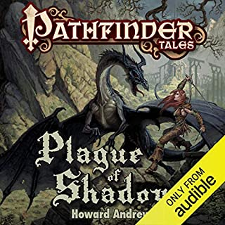 Plague of Shadows audiobook cover art