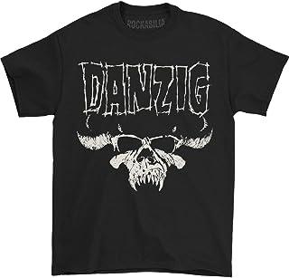 Danzig Skull Logo Regular Mens T Tシャツ