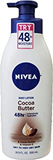Nivea Cocoa Butter Body Lotion, 16.9 Fl. Oz.(Pack of 2)