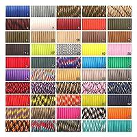 550パラシュートコードストラップテントロープミルスペックタイプIII 7ストランド100フィートのための100フィート200色 (Color : Other colors message, Length(m) : 25feet)
