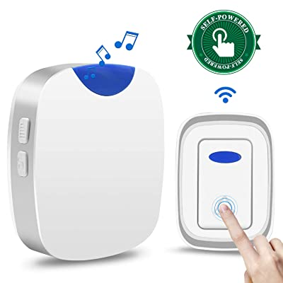 Agedate Newest 2019 Wireless Doorbell Battery F...