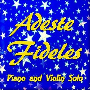 Adeste fideles (Piano and Violin Solo)