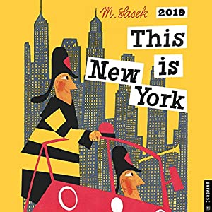 Book's Cover ofThis Is New York 2019 Calendar
