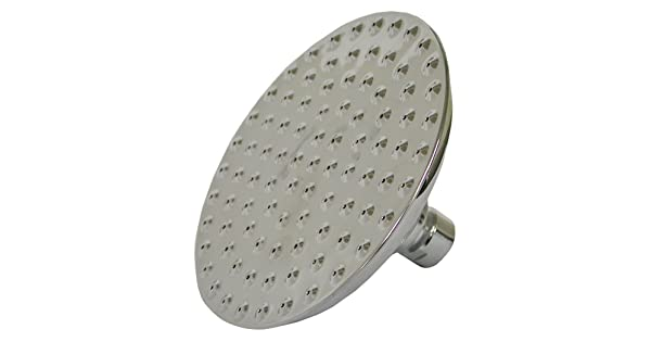 Chrome Plumbest S01-089 Rain Style 8-Inch Round Shower Head with Dimples