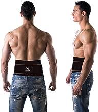 Copper Compression Gear Premium Fit Back Brace Lower Lumbar Support Belt. Adjustable for..