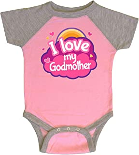 I Love My Godmother Gift for Godchild Infant Creeper