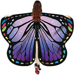Halloween Cosplay Schmetterling Kostüm, 170X140CM Bohemian