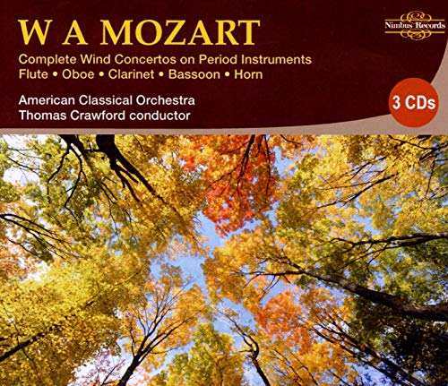 Mozart, The Complete Wind Concer...