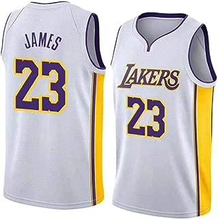 DDOYY Camiseta de baloncesto para hombre Kobe Bryant # 24 Lakers sin mangas deportes al aire libre sin mangas fitness 2XS-5XL juego de baloncesto