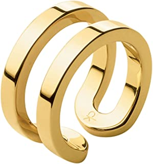 Calvin Klein Return Ring Return Pvd Po For women