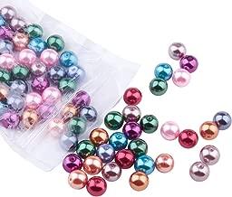 12mm round glass beads
