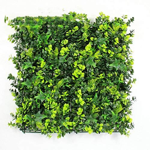 VNKLUCF Künstliche Zaun Sträucher LaubHohe Nachahmung Pflanzen BlätterKunstrasenMatte Für DIY Garten Hochzeit Dekorationen