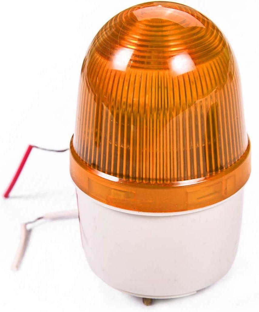 24V-265V AC DC Automatic Gate Opener Strobe Flash Lamp Alarm Wall Mount
