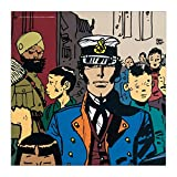 CC Editions Poster Offset Corto Maltese, Lointain (70x70cm)