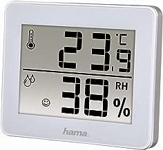 Hama TH-130 Blanco - Estación meteorológica (Blanco, Higrómetro de interior, Termómetro de interior, Monocromo, CR2025, 100 mm, 11 mm)