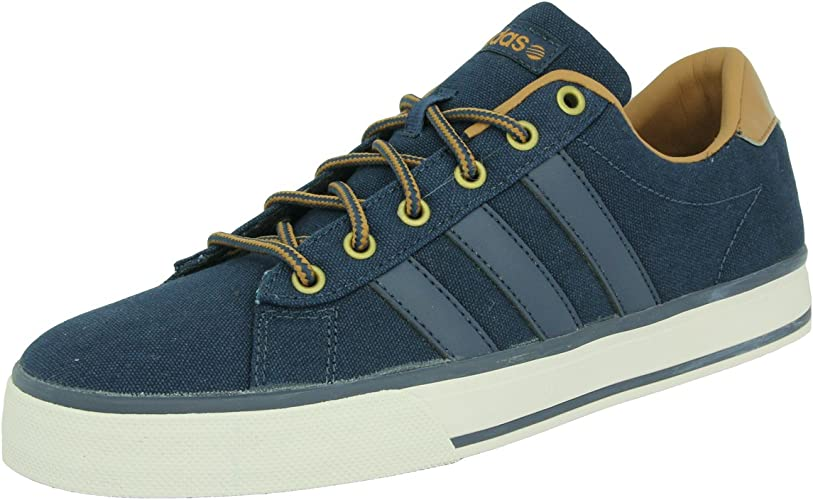 adidas Neo Daily Chaussures Mode Sneakers Homme Toile Bleu ...