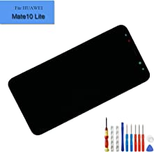 LCD Display Compatible with Huawei Mate 10 Lite RNE-L01 RNE-L21 RNE-L23 Replacement Touch Screen Digitizer Full Assembly with Frame + Adhesive + Tools