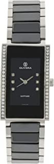 Olivera Casual Watch Analog for Women, Stainless Steel, OL1317