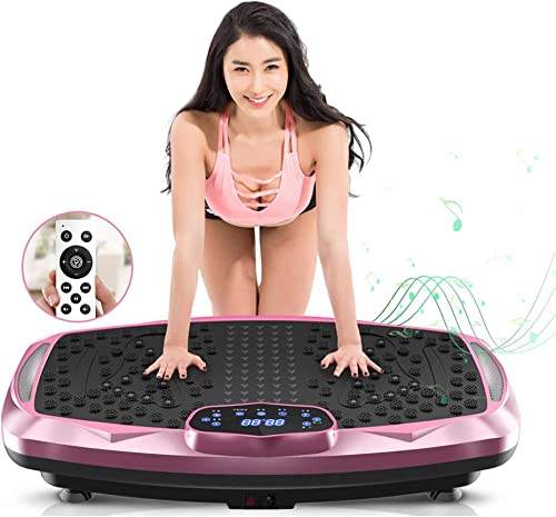 nimto Vibration Plate Exercise Machine Whole Body Workout Vibration Fitness Platform for Home Fitness & Weight Loss +...