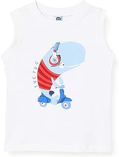 Camiseta Punto SIN Mangas NIÑO Blanca Sea Riders