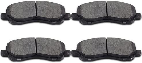 Brake Pads,ECCPP 4pcs Front Ceramic Disc Brake Pads Kits fit for Chrysler 200/Sebring,Dodge Avenger/Caliber/Stratus,Jeep Compass/Patriot,Mitsubishi Eclipse/Galant/Lancer/Outlander Sport