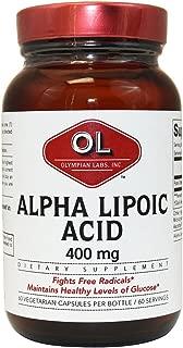Olympian Labs Alpha Lipoic Acid -- 400 mg - 60 Capsules