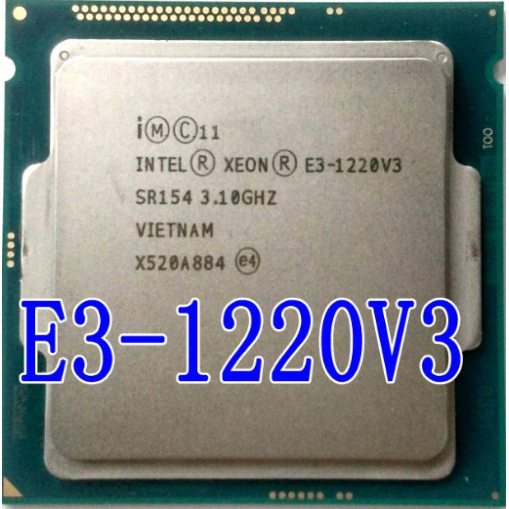 Renewed Intel Xeon E3-1231 v3 Quad-Core Haswell Processor 3.4GHz 5.0GT//s 8MB LGA 1150 CPU; OEM