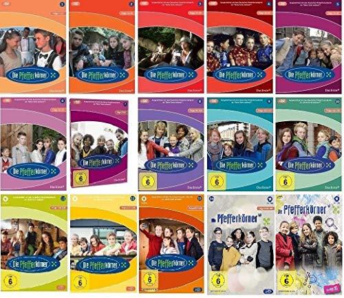 Die Pfefferkörner Staffel 1-15 (1+2+3+4+5+6+7+8+9+10+11+12+13+14+15, 1 bis 15) [DVD Set]